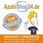 Cover-Bild zu Christiansen, Jennifer: AzubiShop24.de Spar-Paket Lernkarten Verfahrensmechaniker für Kunststoff- und Kautschuktechnik