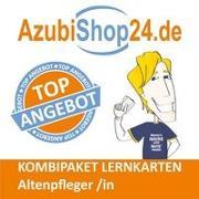 Cover-Bild zu Christiansen, Jennifer: AzubiShop24.de Kombi-Paket Lernkarten Altenpfleger /in