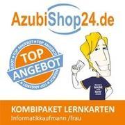 Cover-Bild zu Rung-Kraus, Michaela: AzubiShop24.de Kombi-Paket Lernkarten Informatikkaufmann /frau