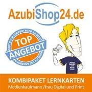 Cover-Bild zu Rung-Kraus, Michaela: AzubiShop24.de Kombi-Paket Lernkarten Medienkaufmann /frau Digital und Print