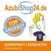 Cover-Bild zu Rung-Kraus, Michaela: AzubiShop24.de Kombi-Paket Lernkarten Hörakustiker/-in