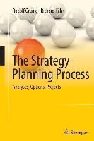 Cover-Bild zu Grünig, Rudolf: The Strategy Planning Process
