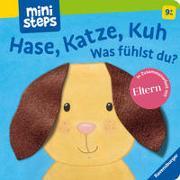 Cover-Bild zu Orso, Kathrin Lena: Hase, Katze, Kuh - Was fühlst du?
