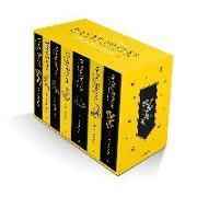 Cover-Bild zu Rowling, J.K.: Harry Potter Hufflepuff House Editions Paperback Box Set