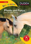 Cover-Bild zu Küntzel, Karolin: Dein Lesestart - Pferde und Ponys