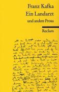 Cover-Bild zu Kafka, Franz: Ein Landarzt und andere Prosa