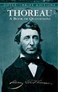 Cover-Bild zu Thoreau, Henry David: Thoreau's Book of Quotations