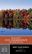 Cover-Bild zu Thoreau, Henry David: Walden, Civil Disobedience and Other Writings
