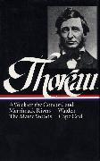 Cover-Bild zu Thoreau, Henry David: Henry David Thoreau: A Week on the Concord and Merrimack Rivers, Walden, The Maine Woods, Cape Cod (LOA #28)
