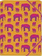 Cover-Bild zu Schöll, Stephan (Gestaltet): Die Tiere Afrikas Mini-Sammelmappe Motiv Elefant