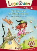 Cover-Bild zu von Vogel, Maja: Leselöwen 1. Klasse - Die Hexe und der Muffin-Zauber