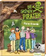 Cover-Bild zu Poßberg, Andrea: Das Grüne Piraten-Freundebuch