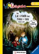 Cover-Bild zu Lenk, Fabian: Im Labyrinth der Finsternis - Leserabe 3. Klasse - Erstlesebuch für Kinder ab 8 Jahren