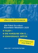 Cover-Bild zu Goethe, Johann Wolfgang von: Abitur-Paket Nordrhein-Westfalen 2020. Deutsch Grundkurs - Königs Erläuterungen