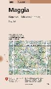 Cover-Bild zu Maggia. 1:25'000