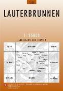Cover-Bild zu Lauterbrunnen. 1:25'000