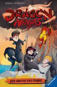 Cover-Bild zu Dragon Ninjas, Band 2: Der Drache des Feuers von Petrowitz, Michael
