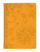 Cover-Bild zu ALPHA EDITION (Hrsg.): Ladytimer Deluxe Honey 2022 - Taschen-Kalender A6 (11x15 cm) - Tucson Einband - Motivprägung Blüten - Weekly - 192 Seiten - Alpha Edition