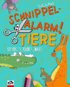 Cover-Bild zu Weßner, Silke: Schnippel-Alarm! Band 2: Tiere - Das Ausschneide-Buch für Kinder ab 3 Jahren