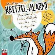 Cover-Bild zu Weßner, Silke: Kritzel-Alarm! Das verrückte Kritzel-Malbuch zum Aus- und Fertigmalen
