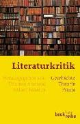 Cover-Bild zu Anz, Thomas (Hrsg.): Literaturkritik