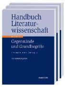Cover-Bild zu Anz, Thomas (Hrsg.): Handbuch Literaturwissenschaft