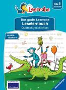 Cover-Bild zu Dietl, Erhard: Das große Leserabe Leselernbuch: Quatschgeschichten - Leserabe ab der 1. Klasse - Erstlesebuch für Kinder ab 5 Jahren