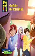 Cover-Bild zu Wich, Henriette: Die drei !!! 13: Gefahr im Reitstall
