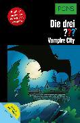 Cover-Bild zu Sonnleitner, Marco: PONS Die drei ??? Fragezeichen Vampire City mit Audio (eBook)