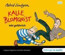 Cover-Bild zu Lindgren, Astrid: Kalle Blomquist lebt gefährlich