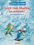 Cover-Bild zu Lindgren, Astrid: Guck mal, Madita, es schneit!