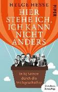 Cover-Bild zu Hesse, Helge: Hier stehe ich, ich kann nicht anders