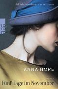 Cover-Bild zu Hope, Anna: Fünf Tage im November