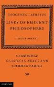 Cover-Bild zu Dorandi, Tiziano (Centre National de la Recherche Scientifique (CNRS), Paris) (Hrsg.): Diogenes Laertius: Lives of Eminent Philosophers