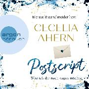 Cover-Bild zu Ahern, Cecelia: Postscript - Was ich dir noch sagen möchte (Ungekürzte Lesung) (Audio Download)