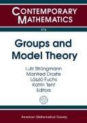 Cover-Bild zu Strungmann, Lutz (Hrsg.): Groups and Model Theory