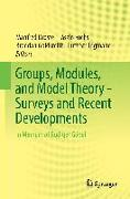 Cover-Bild zu Droste, Manfred (Hrsg.): Groups, Modules, and Model Theory - Surveys and Recent Developments