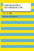 Cover-Bild zu Kleist, Heinrich von: Das Erdbeben in Chili. Textausgabe mit Kommentar und Materialien