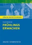 Cover-Bild zu Wedekind, Frank: Frühlings Erwachen von Frank Wedekind