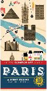 Cover-Bild zu Henry de Tessan, Christina: City Scratch-Off Map: Paris: A Sight-Seeing Scavenger Hunt