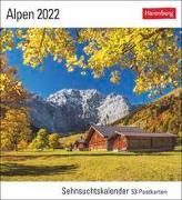 Cover-Bild zu Harenberg (Hrsg.): Alpen Kalender 2022