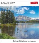 Cover-Bild zu Harenberg (Hrsg.): Kanada Kalender 2022