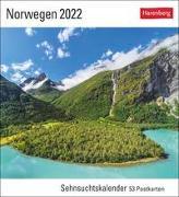 Cover-Bild zu Bäck, Christian: Norwegen Kalender 2022