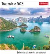 Cover-Bild zu Harenberg (Hrsg.): Traumziele Kalender 2022