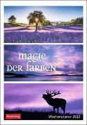 Cover-Bild zu Harenberg (Hrsg.): Magie der Farben Kalender 2022