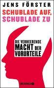 Cover-Bild zu Förster, Jens: Schublade auf, Schublade zu