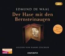 Cover-Bild zu de Waal, Edmund: Der Hase mit den Bernsteinaugen (MP3-CD)