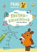 Cover-Bild zu Frag doch mal ... die Maus!: Mein Ferien-Rätselblock mit der Maus von Himmel, Anna