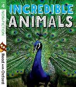 Cover-Bild zu Read with Oxford: Stage 4: Non-fiction: Incredible Animals von Alcraft, Rob