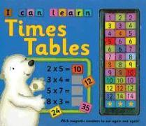 Cover-Bild zu I Can Learn Times Tables: With Magnetic Numbers to Use Again and Again! von Baxter, Nicola